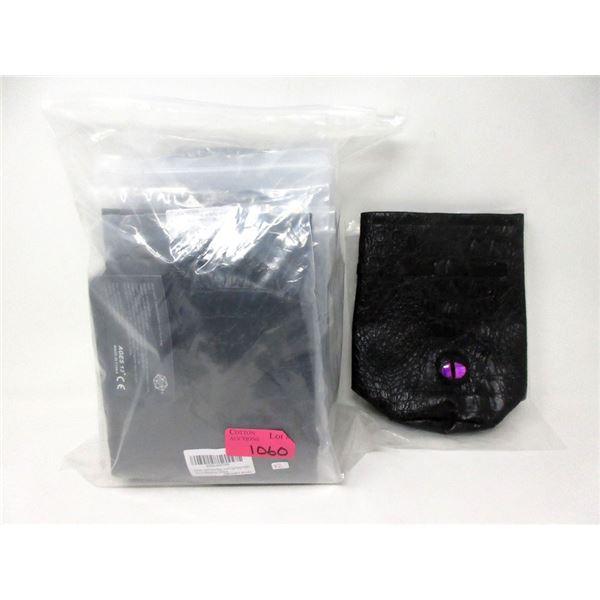 13 New Haxtec Black DND Dragon Eye Dice Bags