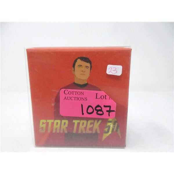 "2016 Canada Fine Silver ""Star Trek"" $10 Coin"