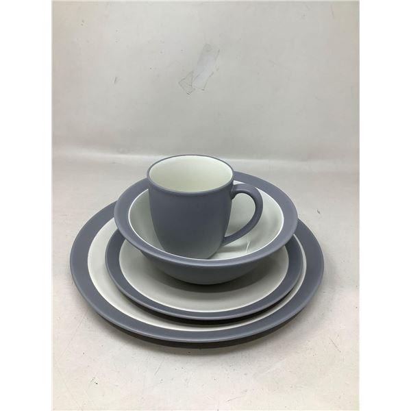 Lot Of 4 Matching Dishes And Mug (Grey)