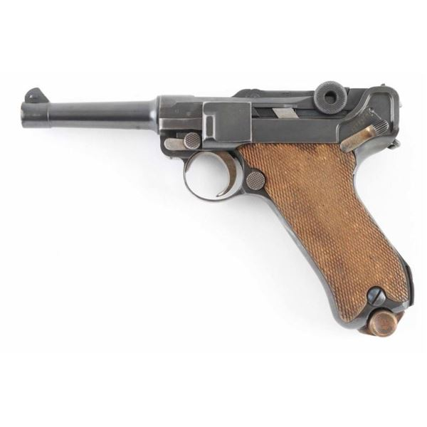 DWM 1920 Commercial Luger .30 Cal SN: 7444i