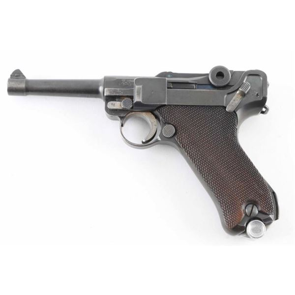 """Mauser """"S/42 1936"""" P.08 9mm Luger SN: 6076o"""