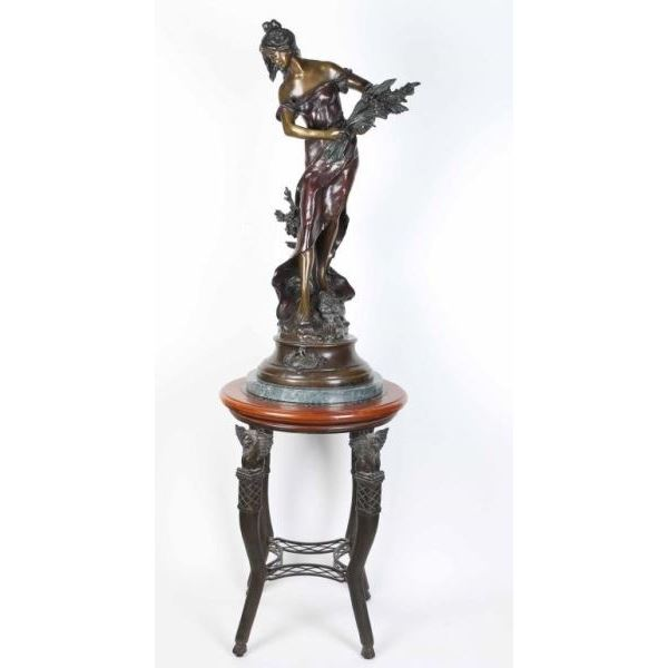 Fine Art Bronze by Auguste Moreau