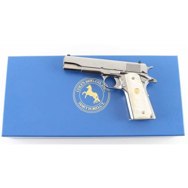 Colt Custom Gov't .38 Super SN: ELCEN1447
