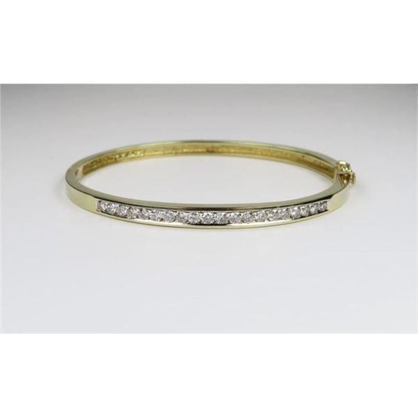 Sensational Diamond Bangle Bracelet
