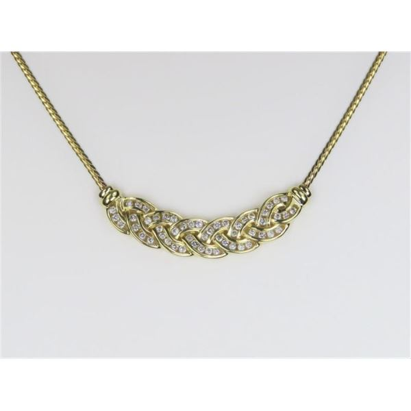Fabulous Diamond Necklace