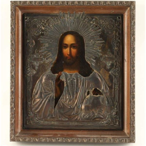 Authentic Hand Painted on Wood Russian Icon