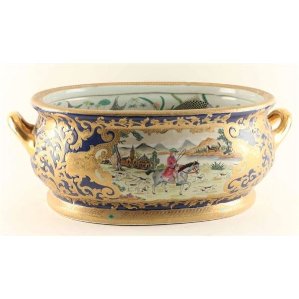 Early to Mid 19th Century Chinese Foot Bowl