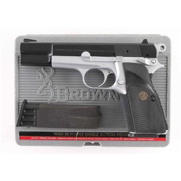Browning Hi-Power 9mm SN: 245NY54215
