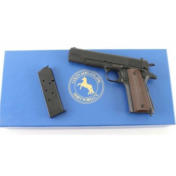 Colt M1911A1 'Reissue' .45 ACP SN: WMK1378