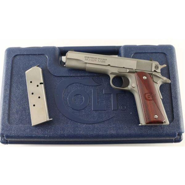 Colt Government Model .45 ACP SN: CV44001