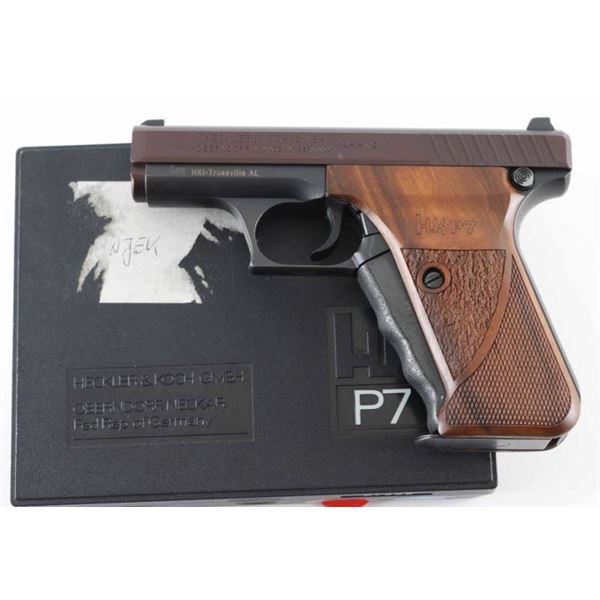 Heckler & Koch HK P7 9mm SN: 67669