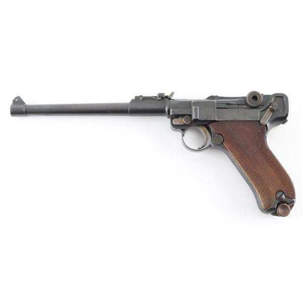 Erfurt Artillery Luger 9mm SN: 4475d
