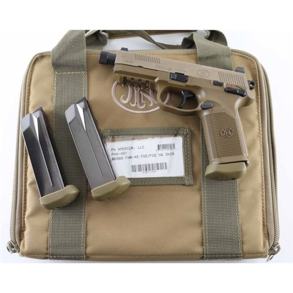 FN FNX-45 Tactical .45 ACP SN: FX3U133716