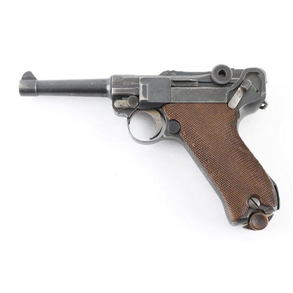 Erfurt Model P-08 9mm SN: 7550f