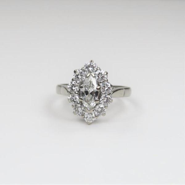 Fine Antique European Diamond Ring