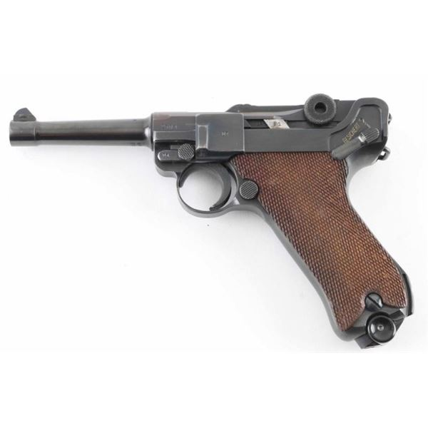 """Mauser """"42 1939"""" P.08 9mm Luger SN: 2301v"""