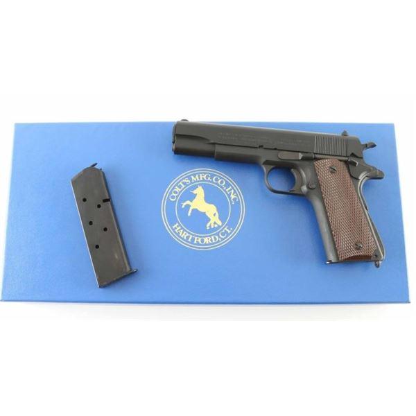 Colt M1911A1 'Reissue' .45 ACP SN: WMK1662