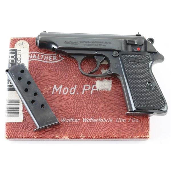 Walther/Interarms PP .32 ACP SN: 363287