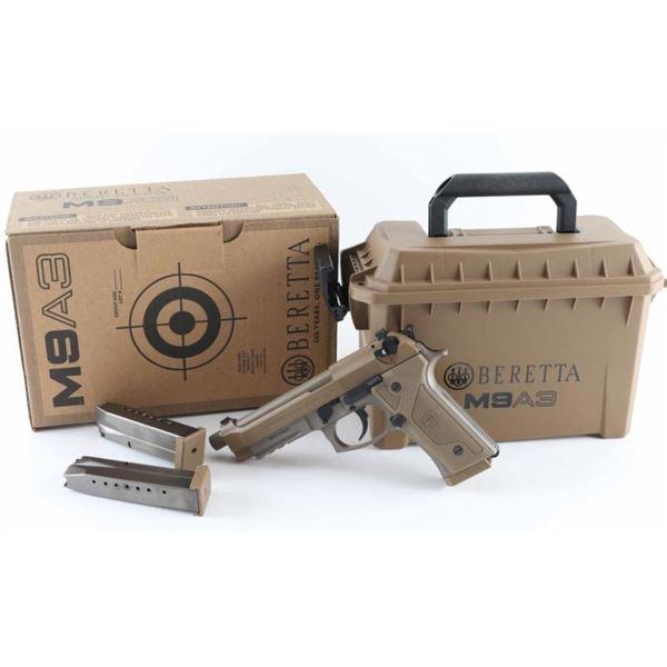 Beretta M9A3 9mm SN: BER731691