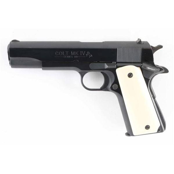 Colt Government Model .38 Super SN: FG96280