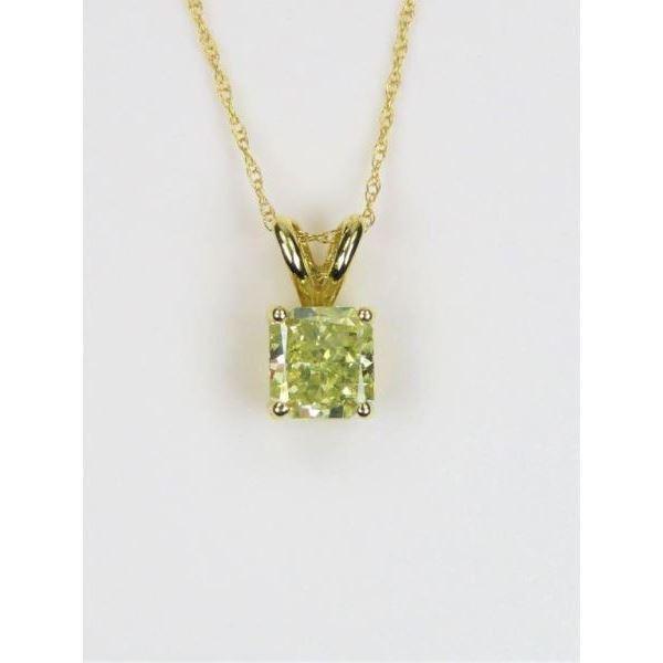 Sensational Fine Quality Fancy Yellow Diamond