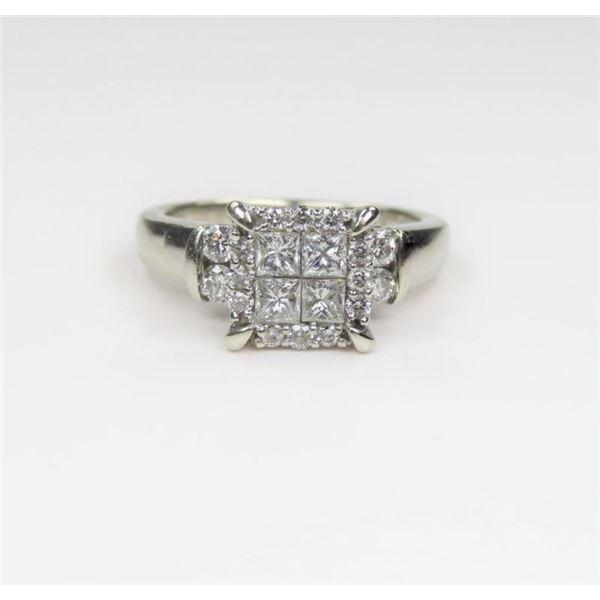 Striking Diamond Ring