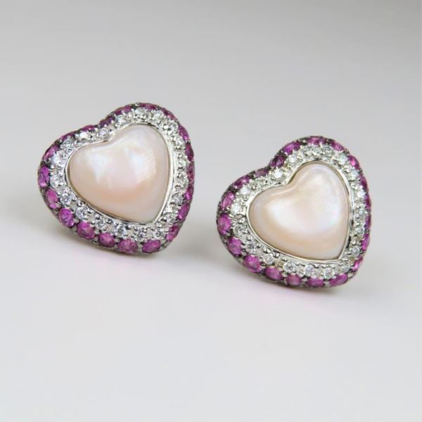 Charming Heart Shaped Pink Sapphire