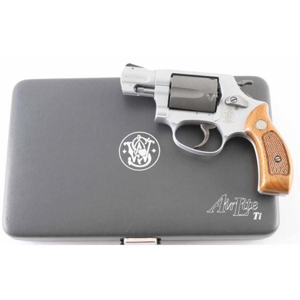 Smith & Wesson 337 .38 Spl SN: CDJ1493