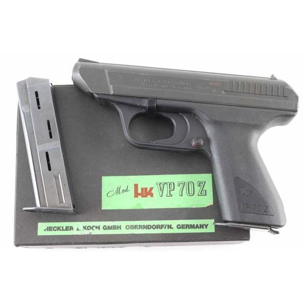 Heckler & Koch HK VP 70 Z 9mm SN: 86221