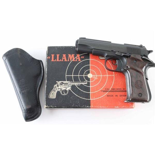 Llama/Stoeger III-A .380 ACP SN: 559814