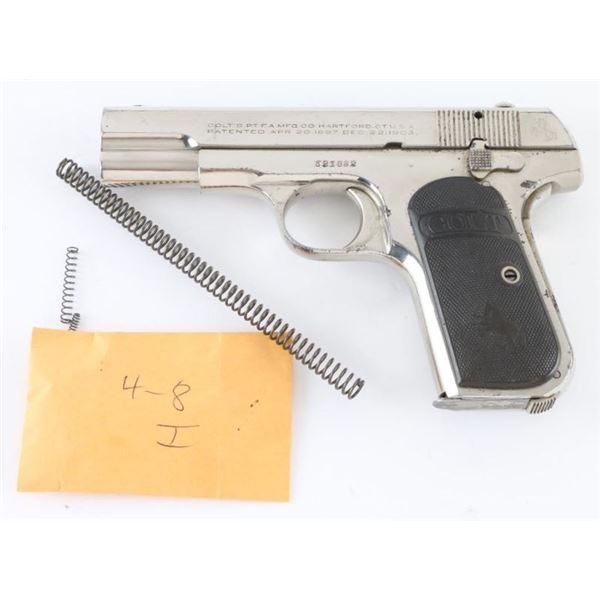 Colt 1908 Pocket Hammerless 380 ACP #521082