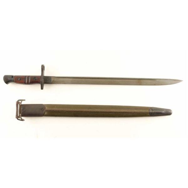 Remington M1917 Bayonet w/ Scabbard