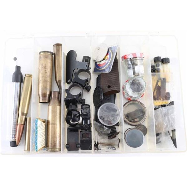Misc Box of Gun Parts