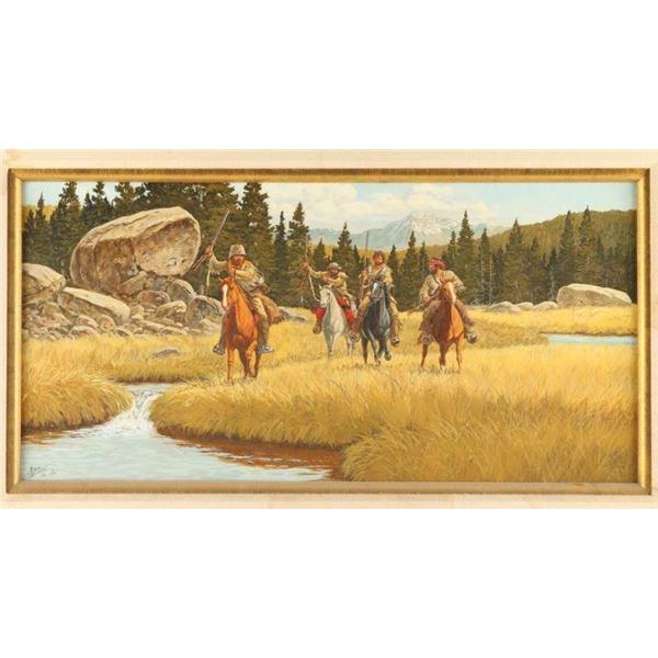 Original oil board