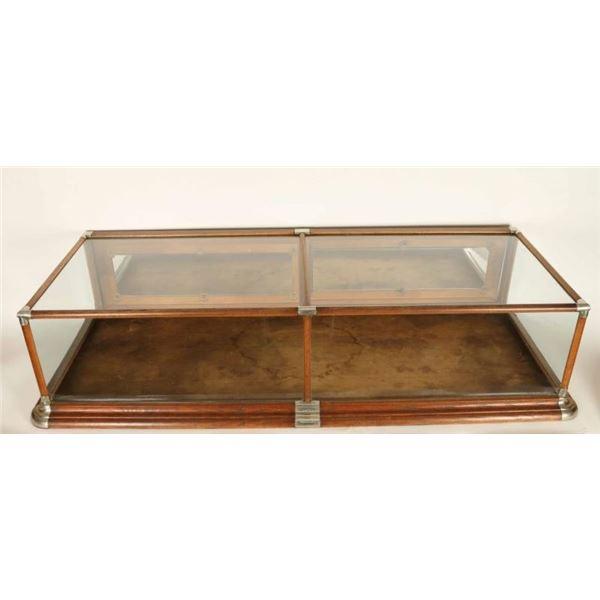 Vintage Wood Framed Display Case