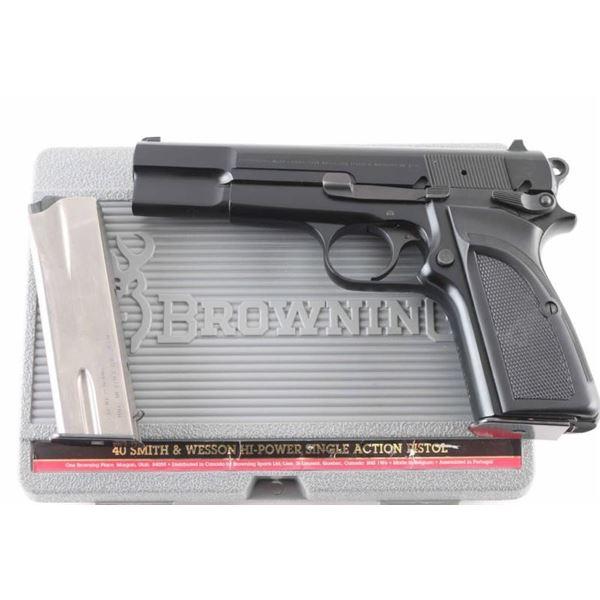 Browning Hi-Power .40 S&W SN: 2W5NX51032