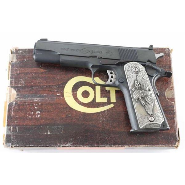Colt Service Model Ace 22LR SN: 70B52819