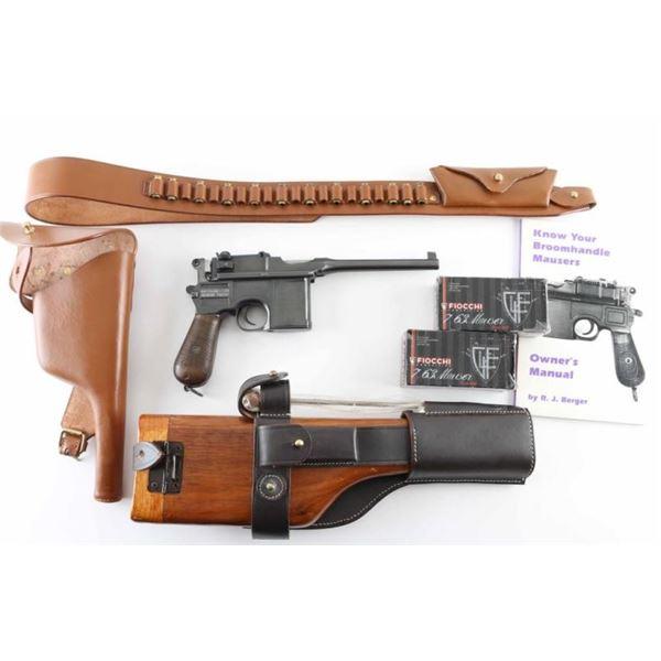 Mauser C96 7.63mm SN: 382789