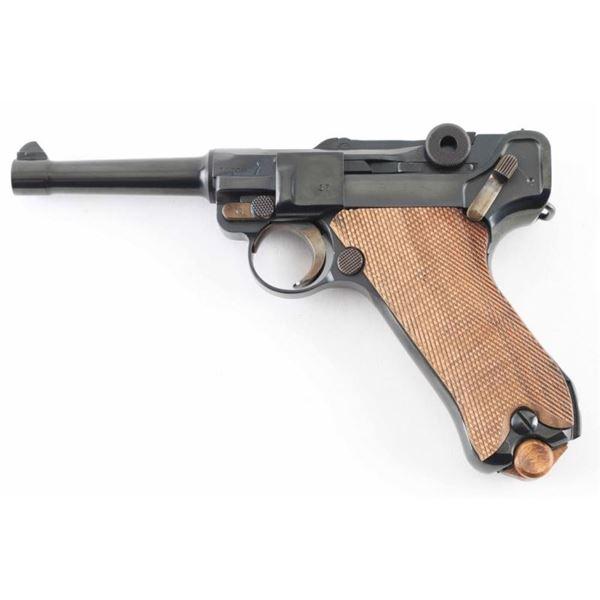 "Mauser ""S/42 35"" P.08 9mm Luger SN: 2435k"
