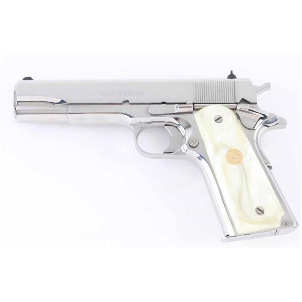 Colt Custom Gov't .38 Super SN: ELCEN4141