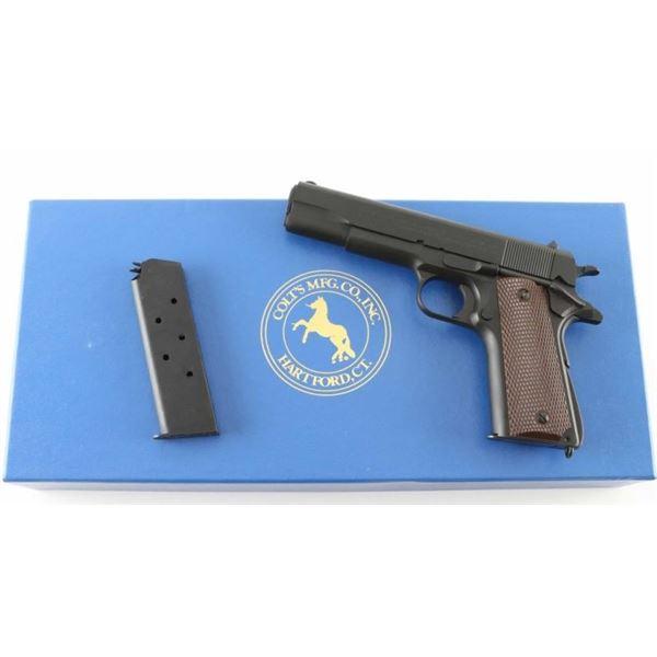Colt M1911A1 'Reissue' .45 ACP SN: WMK2196