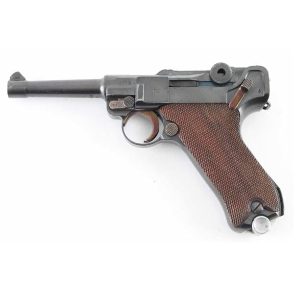"Mauser ""S/42 1937"" P.08 9mm Luger SN: 4562q"