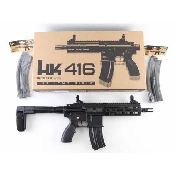 Heckler & Koch HK416 .22 LR SN: HB037445