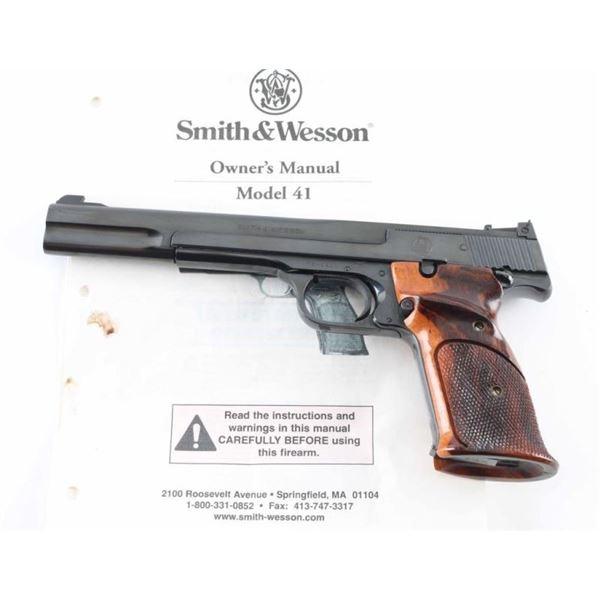Smith & Wesson Model 41 22 LR SN: TEY3981