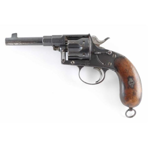 Erfurt 1883 Reichsrevolver 10.55mm SN 5765g