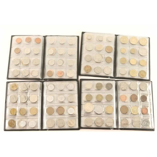 Lot of 480 Coins From Around The World