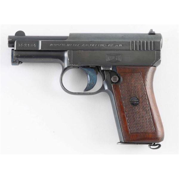 Mauser 1910 .25 ACP SN: 352184