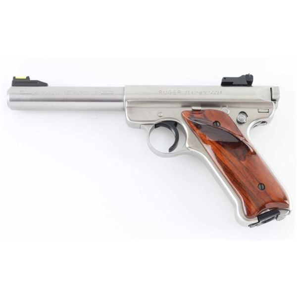Ruger Mark II Target 22 LR SN: 215-09811