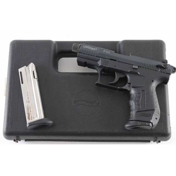 Walther P22 .22 LR SN: L223385