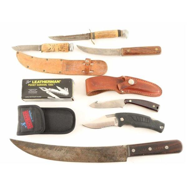 Lot of Knives & Multi-Tool